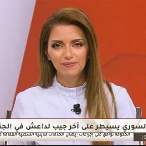 قناة المملكة تعاقب مذيعة «جيش الاحتلال السوري» بالإيقاف ليوم واحد